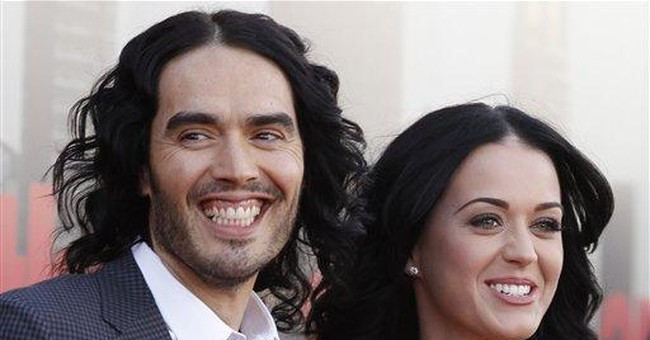 APNewsBreak: Russell Brand, Katy Perry to divorce