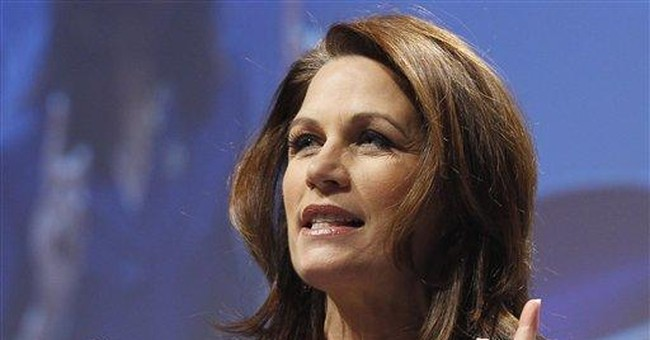Bachmann undecided about 2012 White House race