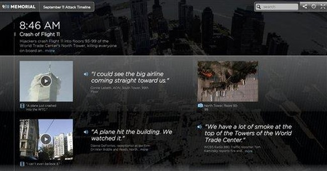 APNewsBreak: NYC museum creates 9/11 timeline