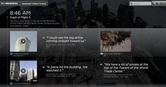 APNewsBreak: NYC museum creates 9/11 timeline