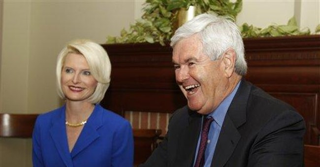 Gingrich: Work for nation factor in indiscretions