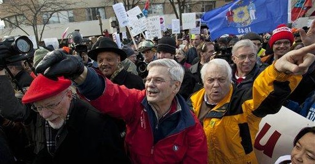 Wis. unions rush deals ahead of bargaining law