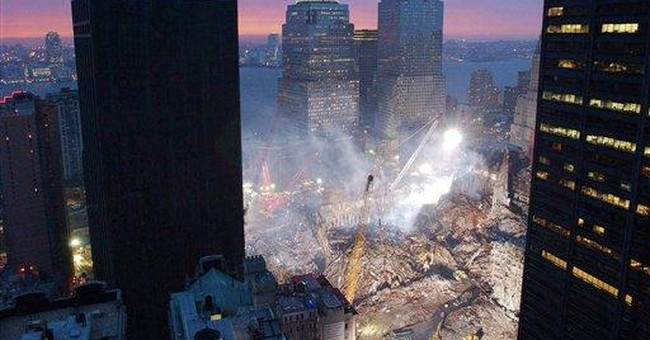 Toxic tower damaged on 9/11 finally coming down