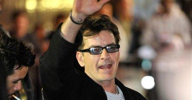 Charlie Sheen moves to trademark 22 catchphrases