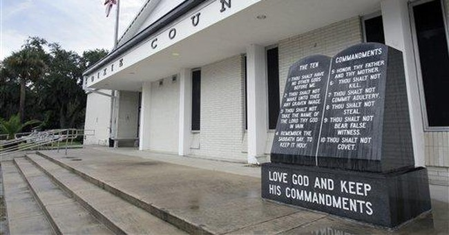 Students Fight Back to Save Ten Commandments