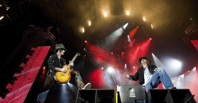 Green Day to induct Guns N' Roses into Rock Hall
