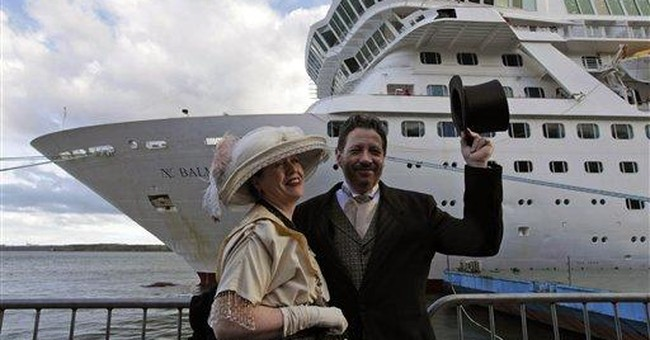 Medical emergency delays Titanic memorial cruise