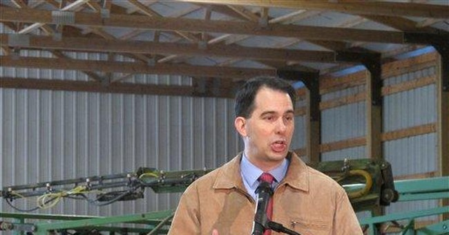 Wisconsin governor kicks off in-person campaigning