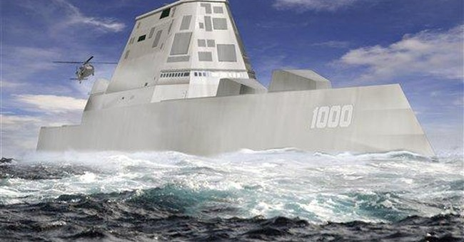 Cutting-edge Navy warship being built in Maine
