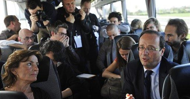 French polls silent on key campaign issue of race