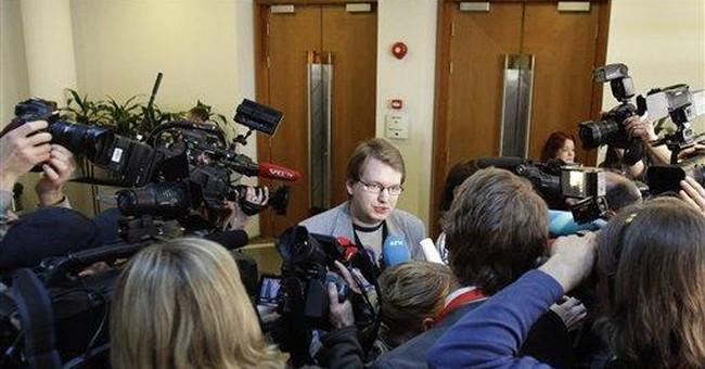 Crush of media at mass killer's trial in Norway
