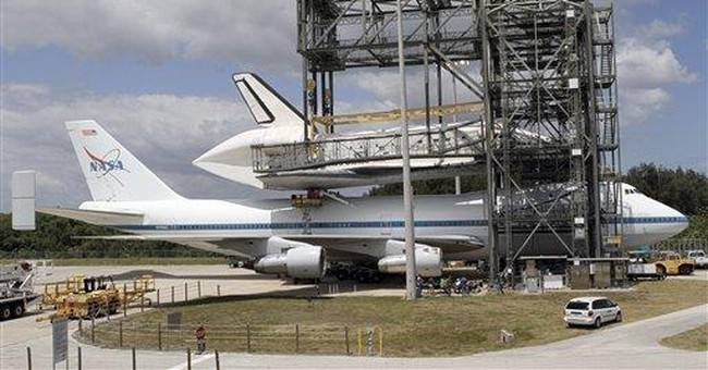 Space shuttle Discovery ready for voyage to museum