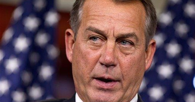 Boehner says Obama 'checked out' last Labor Day