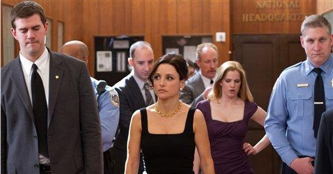 Louis-Dreyfus is 1 heartbeat away in HBO comedy