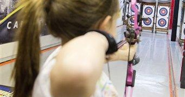 'Hunger Games' fever makes archery cool for kids