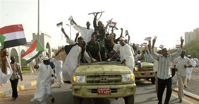Muslim mob burns Catholic church in Sudan capital