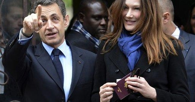 Sarkozy the fighter in battle of his career