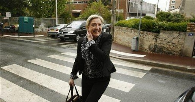 Are markets afraid France will elect a Socialist?