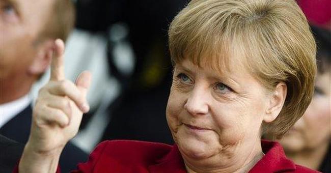 Germany's Merkel defends budget discipline drive