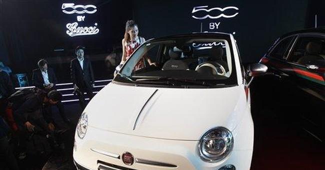 Fiat Q1 profits triple thanks to Chrysler