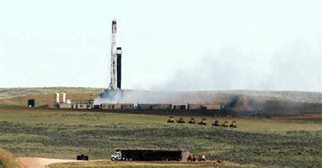 Company plugs blown Wyoming oil well leaking gas