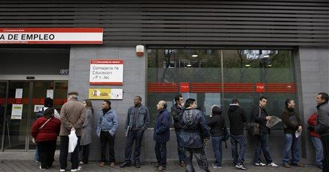 Spain crisis deepens with jobless rise, downgrade