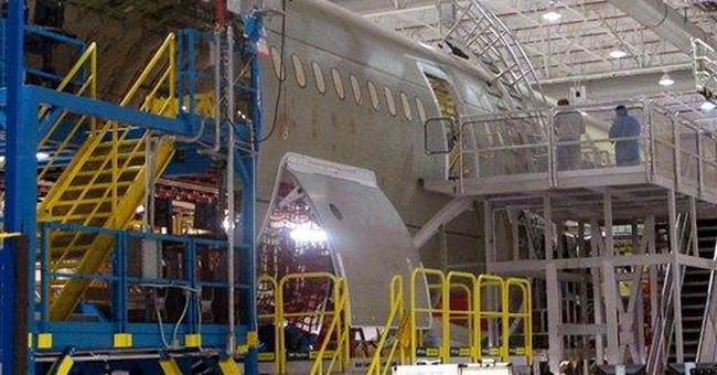 Boeing rolls out first 787 manufactured in SC