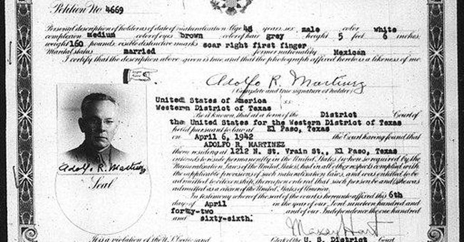 AP Exclusive: NM gov.'s grandfather was US citizen
