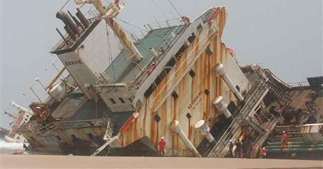 Abandoned ships a rusting hazard in Nigeria waters