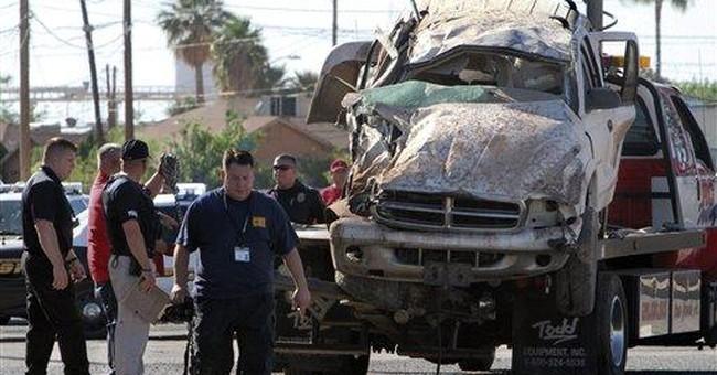 4 dead, 7 hurt when fleeing SUV crashes in Ariz.
