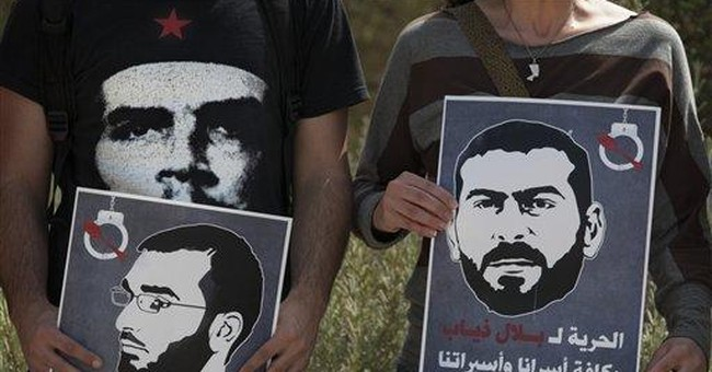 UN concerned about 2 Palestinians on hunger strike