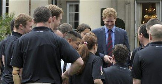 Prince Harry in DC to accept award for service