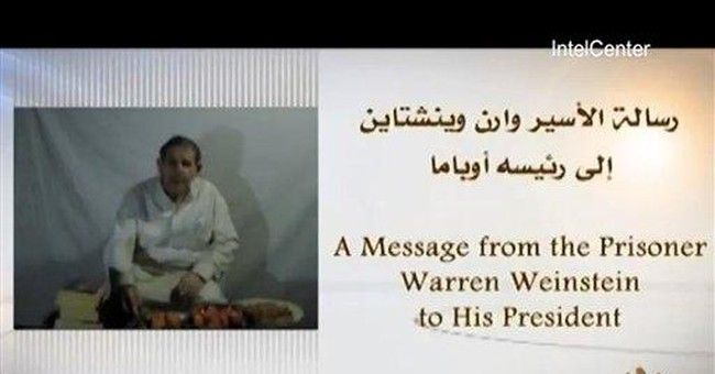 New video of US aid worker kidnapped in Pakistan