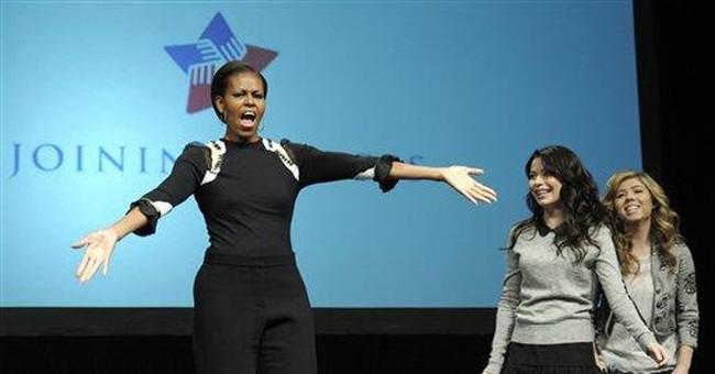 Michelle Obama 'random dances' at  Va. appearance