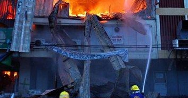 Fire in Philippine clothing store kills 17 workers