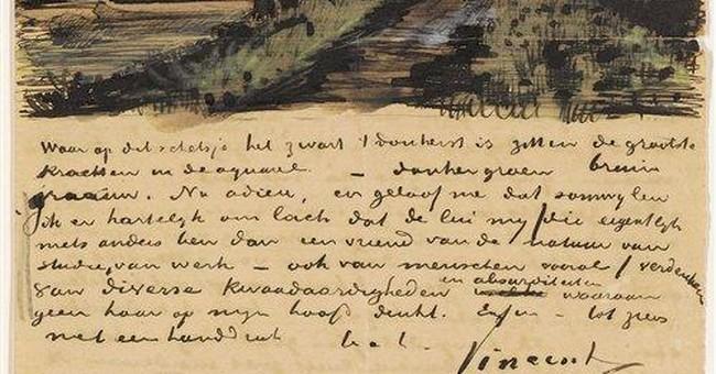 Van Gogh museum unveils new willow watercolor