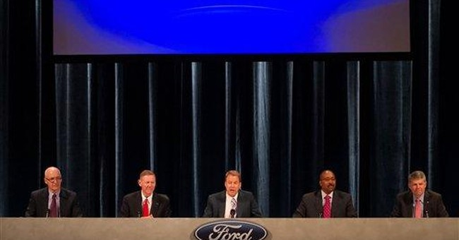 Ford investors shower execs with praise at meeting