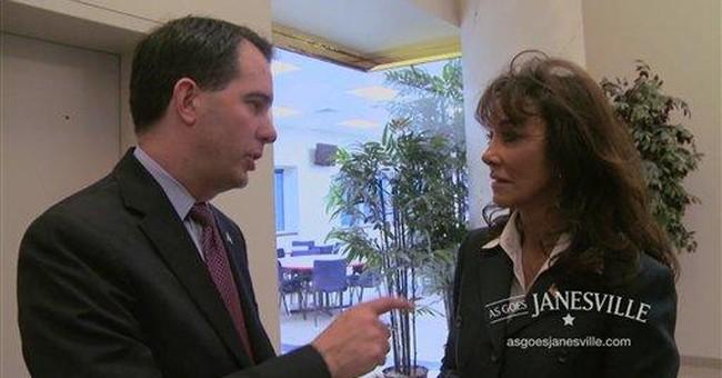 Video: Walker explains divide, conquer strategy