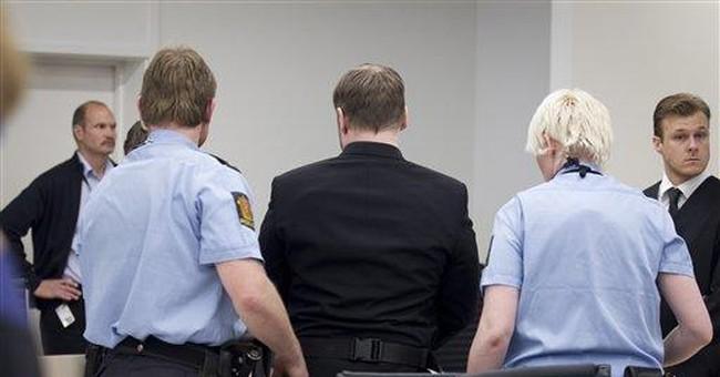 Shoe-thrower interrupts Breivik trial