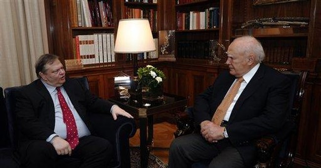 Greek president in last-ditch coalition effort