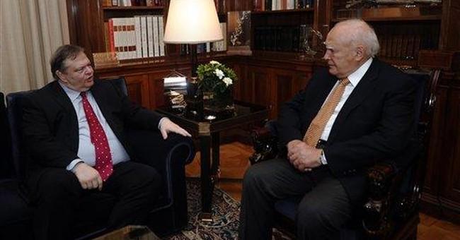 Greek president in last-ditch coalition effort