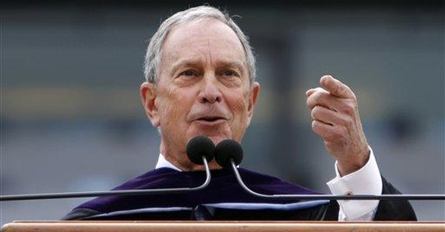 Bloomberg: NC marriage vote sets back civil rights