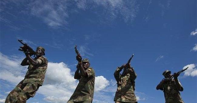 Americans train Ugandans for Somalia mission