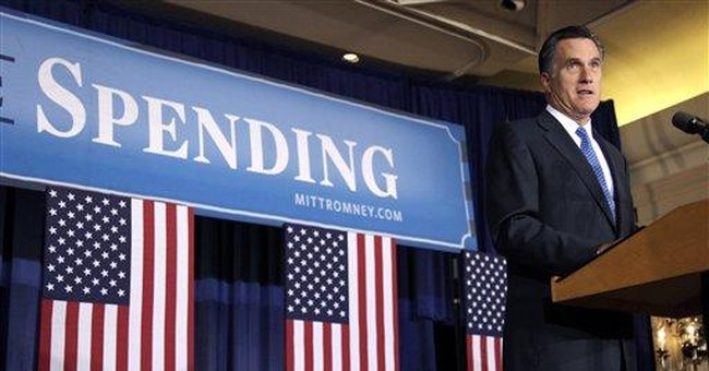 Romney pins 'prairie fire of debt' on Obama