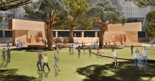 Gehry offers changes in Eisenhower Memorial design