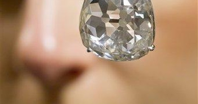 Historic diamond sold for $9.7 million at auction