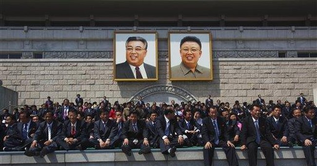 AP PHOTOS: A look inside NKorea's mass spectacles