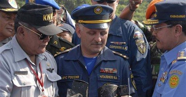 'Black box' found of Russia jet in Indonesia crash