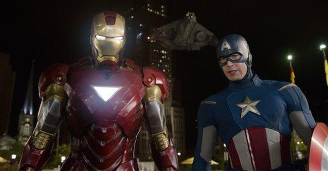 'Avengers' swamps competition with $55.6M weekend