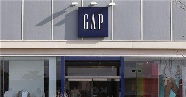 Gap 1Q profit flat but outlook bright, shares rise